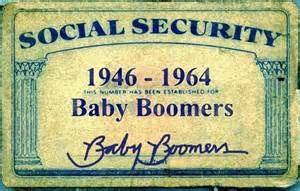 Baby Boomers Social Security Card